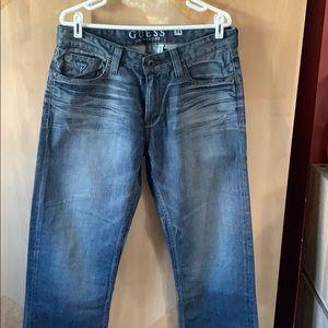 Men's guess jeans size 34x32